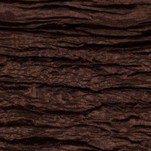 Chocolate Crinkle Taffeta
