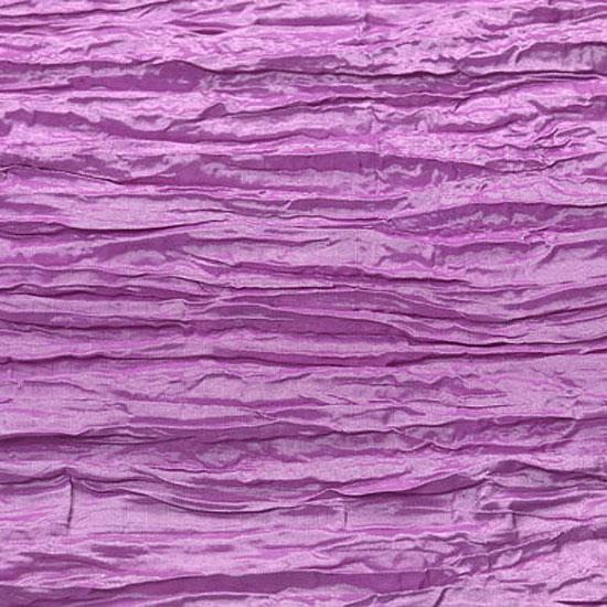 Lavender Crinkle Taffeta
