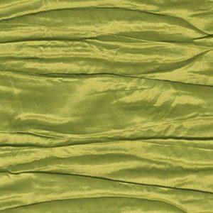 Pistachio Crinkle Taffeta