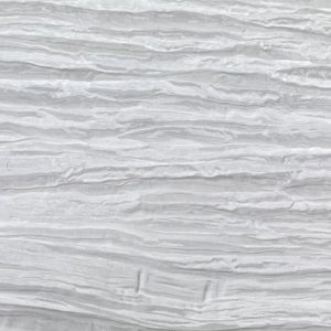 White Crinkle Taffeta