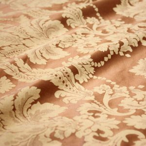 Golden Bronze Damask
