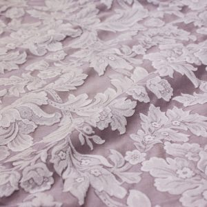 Lilac Washed Damask
