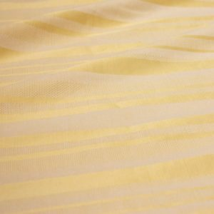 Yellow Stripe Damask
