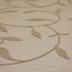 Sand Embroidered Linen