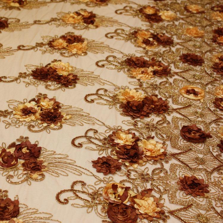 Bronze/Copper Floral Bouquet