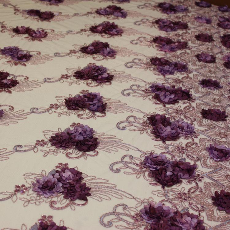 Lavender/Plum Floral Bouquet