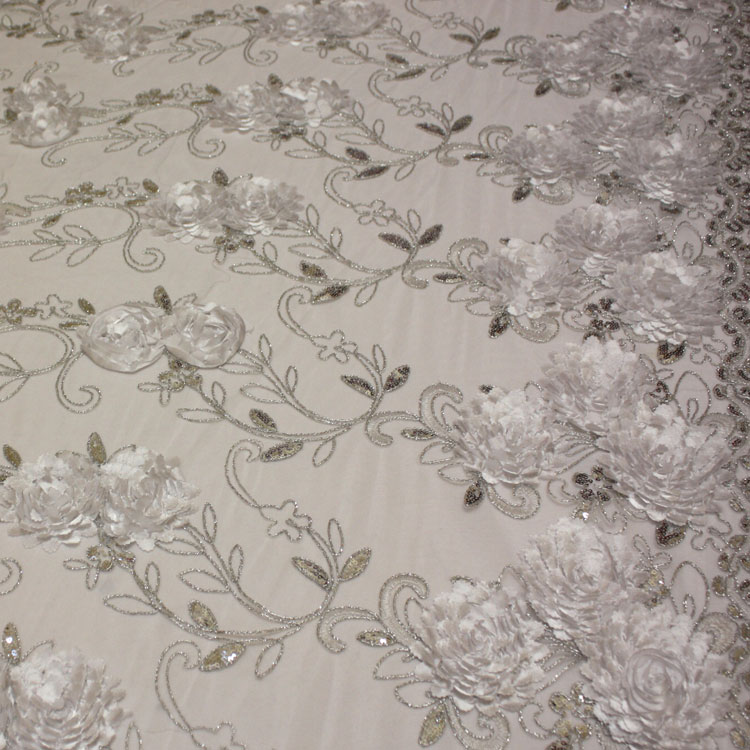 White & Silver Floral Bouquet