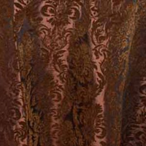 Coffee Flock Damask