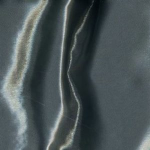 Pewter Iridescent Satin