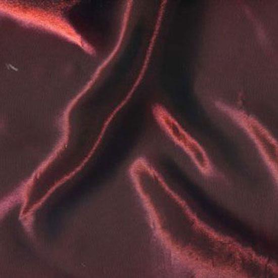 Red Iridescent Satin
