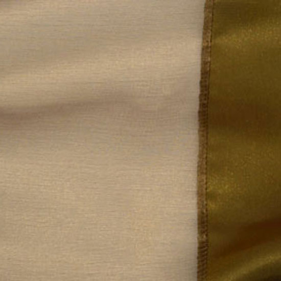 Antique Gold Sheer with Satin