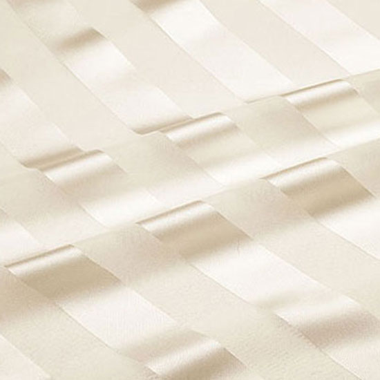 Ivory Regal Stripe Sheer