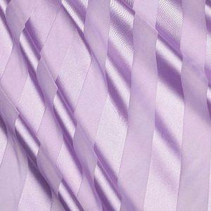 Lilac Regal Stripe Sheer