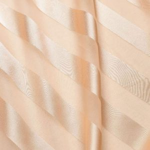 Peach Regal Stripe Sheer