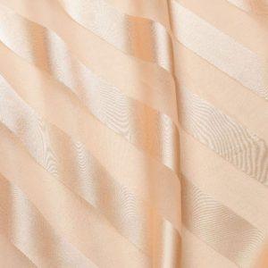 Peach Regal Stripe Sheer