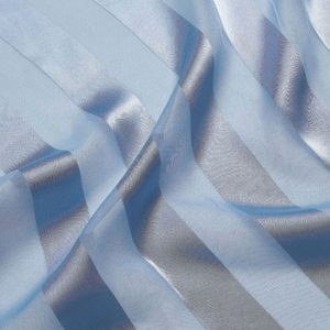 Periwinkle Regal Stripe Sheer