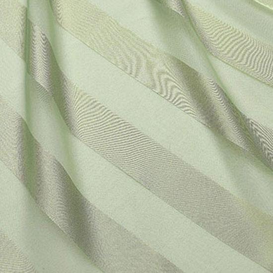 Seafoam Regal Stripe Sheer