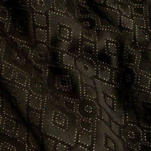 Black & Gold Diamond Brocade