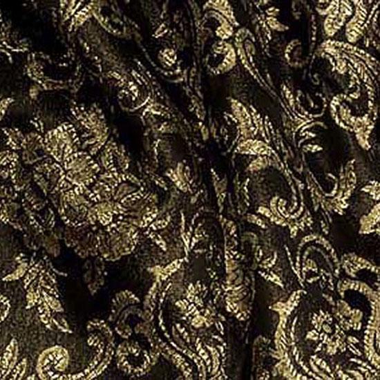 Black & Gold Brocade