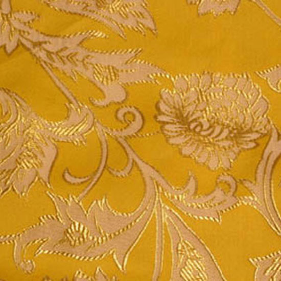 Saffron Artistic Brocade