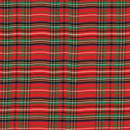 English Christmas Plaid Taffeta