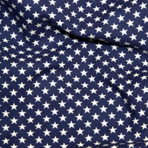 Navy with White Stars