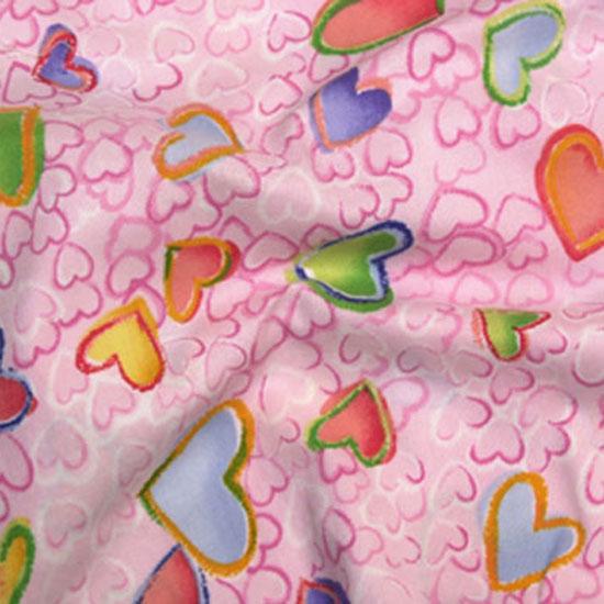 Pink Crazy Hearts