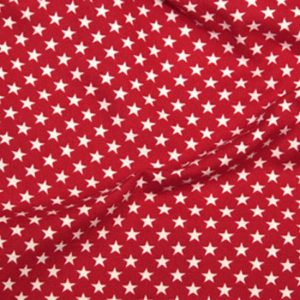 Red with White Stars