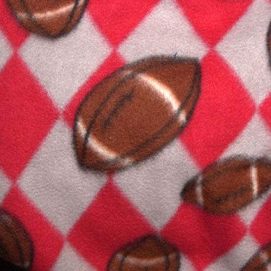 Red & Grey Fleece Football