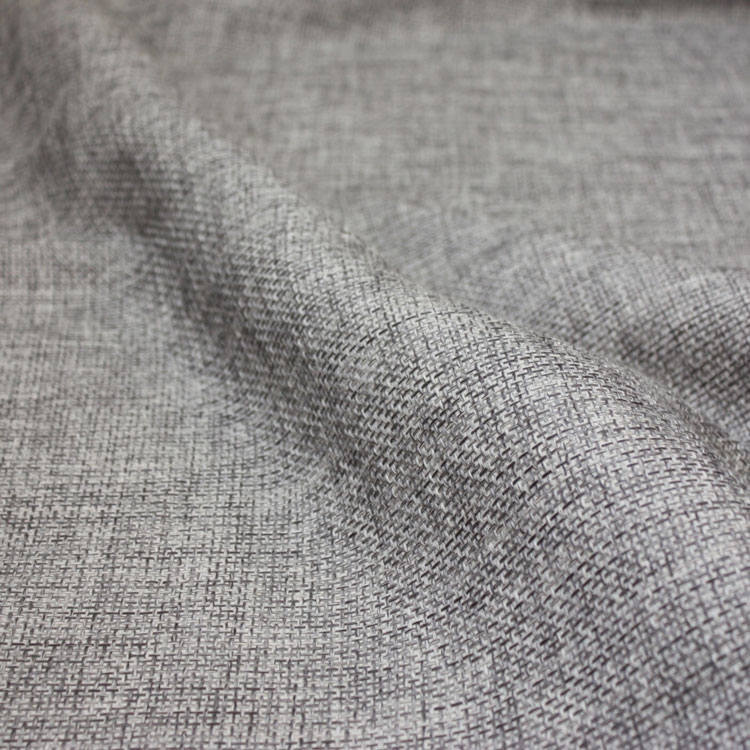 Silver Grey Poly Burlap Table Linen Rental Tablecloth