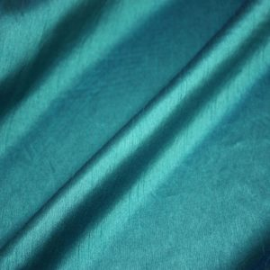 Teal Poly Dupioni