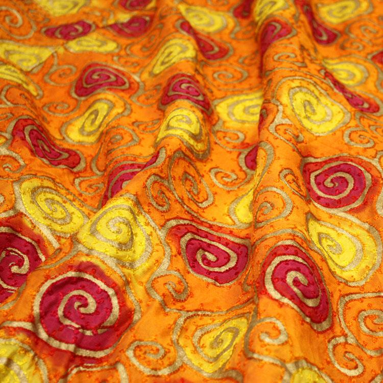 Sunrise Swirl Silk