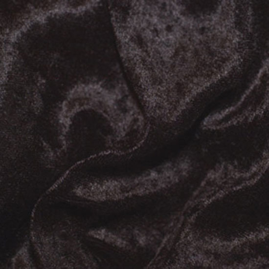 Black Panne Velvet