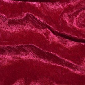 Cherry Panne Velvet
