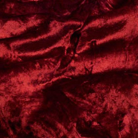 Crushed Burgundy Velvet