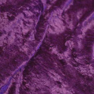 Purple Panne Velvet