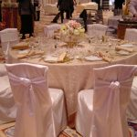 Light Pink Lamour Chair Pad Cover
