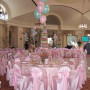 Light Pink Lamour Chair Cover
