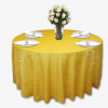 Lemon Crushed Shimmer Linen Rentals