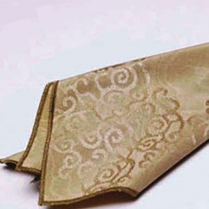 Moire Scroll Damask Napkin2