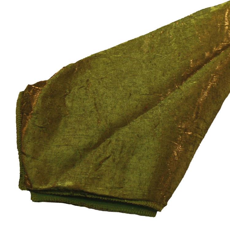 Moss Crushed Shimmer Napkins
