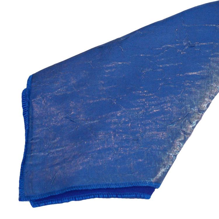 Slate Blue Crushed Shimmer Napkins