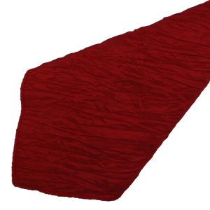 Red Crinkle Napkins