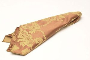 Golden Bronze Damask Napkins