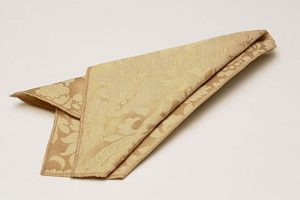 Mocha French Damask Napkins