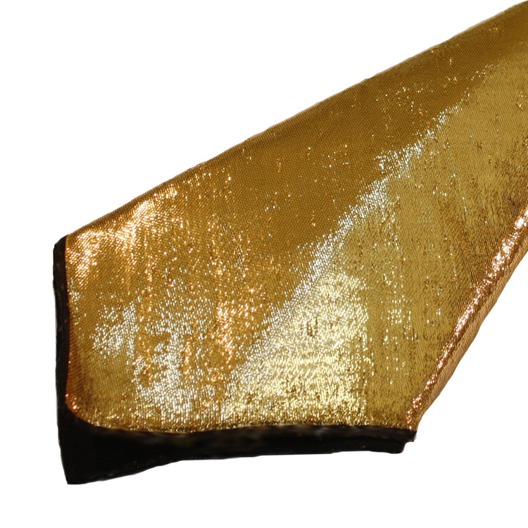 Gold Lame & Black Napkins