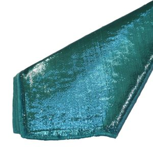 Turquoise Lame Napkins