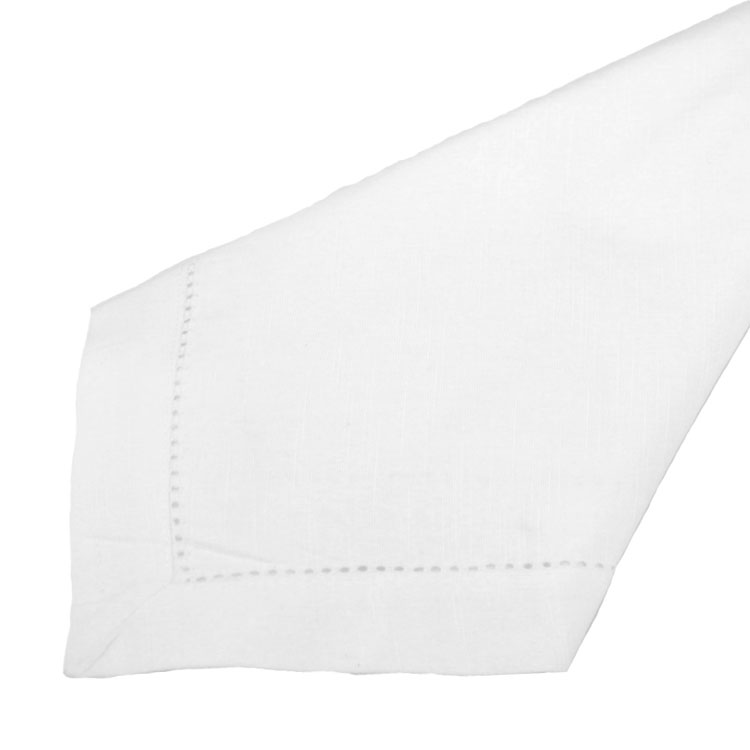 White Hemstitch Napkins