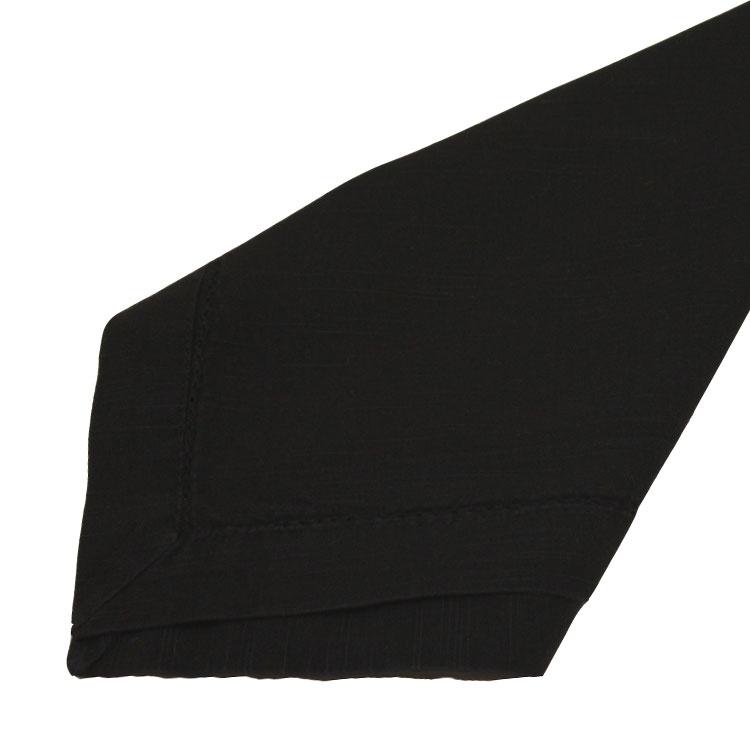 Black Hemstitch Napkins