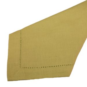 Gold Hemstitch Napkins